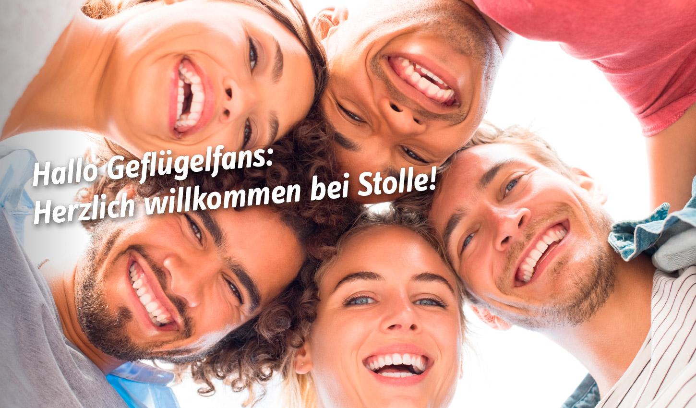 Hallo Geflügelfans: Herzlich willkommen bei Stolle!